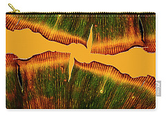 Ginkgo Abstraction Carry-all Pouch by Garry McMichael