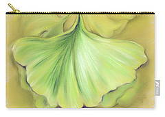 Ginkgo On The Cusp Of Autumn Carry-all Pouch
