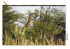 Giraffe Browsing Carry-all Pouch