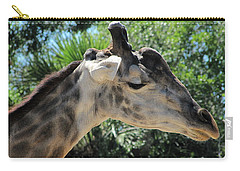Giraffe  Carry-all Pouch by Chris Mercer