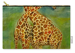 Lovely Giraffe . Carry-all Pouch
