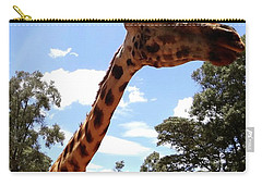 Giraffe Getting Personal 3 Carry-all Pouch