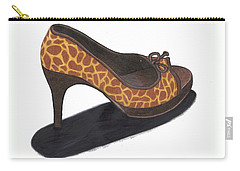 Giraffe Heels Carry-all Pouch
