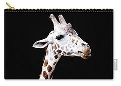 Giraffe Carry-all Pouch by Lauren Mancke