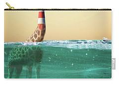 Giraffe Lighthouse Carry-all Pouch