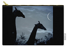 Giraffe Moon  Carry-all Pouch