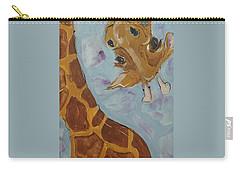 Giraffe Tall Carry-all Pouch by Terri Einer