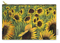Girasoli Gialli Carry-all Pouch