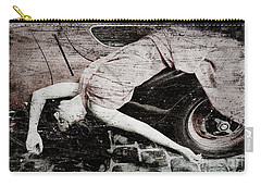Carry-all Pouch featuring the photograph Girl #3434 by Andrey  Godyaykin