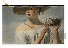 Girl In A Large Hat, C.1645-1650 Carry-all Pouch