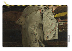 Girl In A White Kimono, 1894 Carry-all Pouch