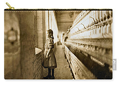 Girl Spinner 11 Years Old Rhodes Manufacturing Co Lincolnton 1908 Carry-all Pouch