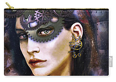 Girl With Dragon Tattoo Carry-all Pouch