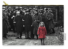 Girl With Red Coat Publicity Photo Schindlers List 1993 Carry-all Pouch