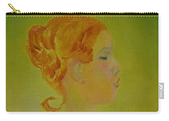 The Girl With The Curl Carry-all Pouch