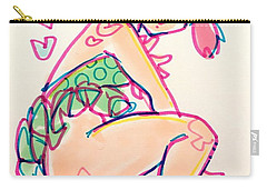 Girl01 Carry-all Pouch