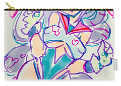 Girl02 Carry-all Pouch
