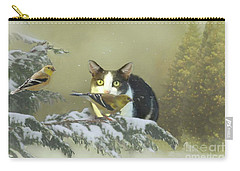 Girlie With The Goldfinches Carry-all Pouch