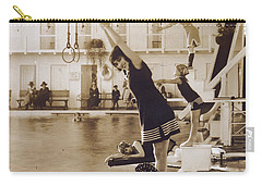 Girls In Plunge Carry-all Pouch