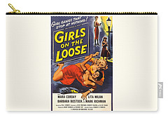 Girls On The Loose Carry-all Pouch