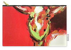 Giselle The Giraffe Carry-all Pouch by Gallery Messina