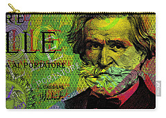 Giuseppe Verdi Portrait Banknote Carry-all Pouch