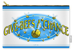 Give Bees A Chance Carry-all Pouch