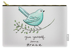 Give Yourself Some Grace Carry-all Pouch