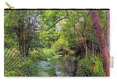 Carry-all Pouch featuring the photograph Giverny Paradise by John Rivera