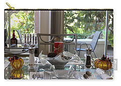 Giving Thanks In California Thanksgiving Table Carry-all Pouch
