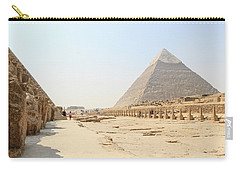 Carry-all Pouch featuring the photograph Giza by Silvia Bruno