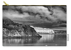 Glacier Bay Alaska In Bw Carry-all Pouch