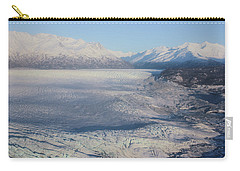 Glacier In Alaska Carry-all Pouch by Jingjits Photography