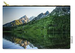 Carry-all Pouch featuring the photograph Glacier Lake by Rebecca Hiatt
