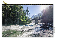 Carry-all Pouch featuring the photograph Glacier National Park Beauty by Margaret Pitcher