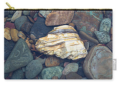 Glacier Park Creek Stones Submerged Carry-all Pouch