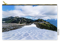 Glaciers At North Cascades Carry-all Pouch