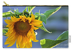 Glad To Be Here Carry-all Pouch by Angela J Wright