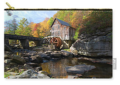 Carry-all Pouch featuring the photograph Glade Creek Grist Mill by Steve Stuller