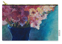 Gladioli-blue Carry-all Pouch