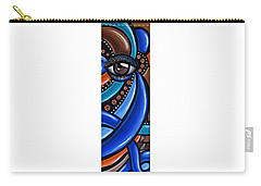 Carry-all Pouch featuring the painting Glamorous - Abstract Painting - Eye Art - Ai P. Nilson by Ai P Nilson