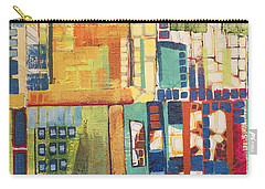 Carry-all Pouch featuring the painting Glass Bottom Boeing by Donna Howard