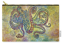 Glass Octopus Carry-all Pouch