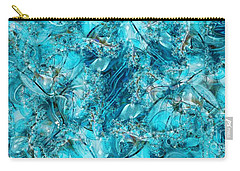Glass Sea Carry-all Pouch by Ron Bissett