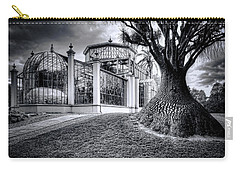 Glasshouse And Tree Carry-all Pouch by Wayne Sherriff