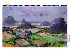 Glasshouse Mountains Dreaming Carry-all Pouch