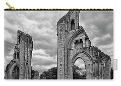 Glastonbury Abbey Carry-all Pouch by Elvira Butler