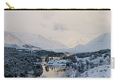 Glen Affric In The Snow Carry-all Pouch