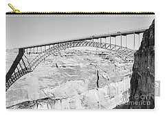 Glen Canyon Bridge Bw Carry-all Pouch