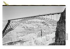 Glen Canyon Bridge Bw Carry-all Pouch